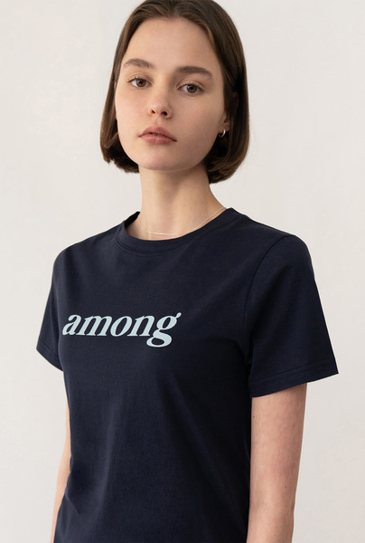 A AMONG LOGO T_NAVY